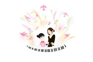 ピアノ教室イラスト02